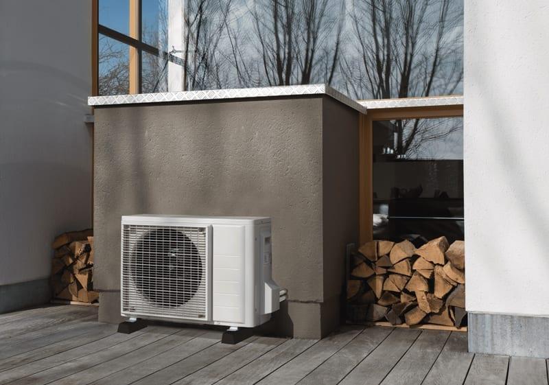 varmepumpe håndværkerfradrag Rødvig Stevns